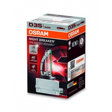 Osram XENARC NIGHT BREAKER UNLIMITED D3S UUTUUS