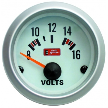 Auto Gauge volttimittari 2""