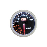 "Auto Gauge volttimittari 2"" SMOKE"