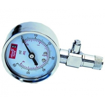 Rengaspainemittari Auto Gauge 0-4bar