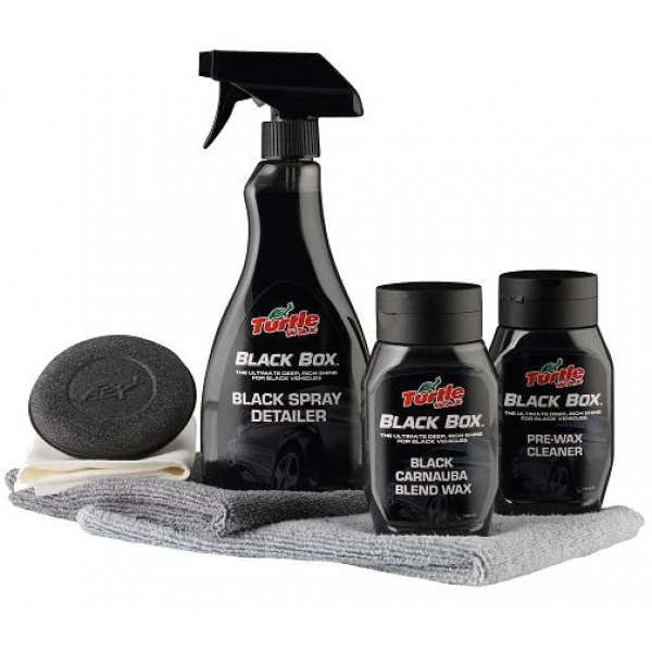 Turtle Wax Black Box -vaha mustille autoille